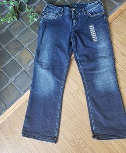 Silver Suki straight leg jeans sz 32 dark wash